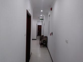 A pretty bare hall